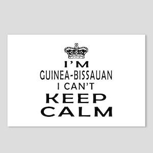 I Am Guinea-Bissauan I Can Not Keep Calm Postcards