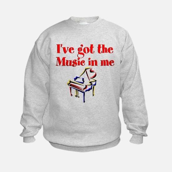 PIANO PLAYER Sweatshirt