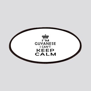 I Am Guyanese I Can Not Keep Calm Patches