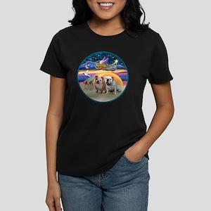 Xmas Star (R) - Two English B Women's Dark T-Shirt