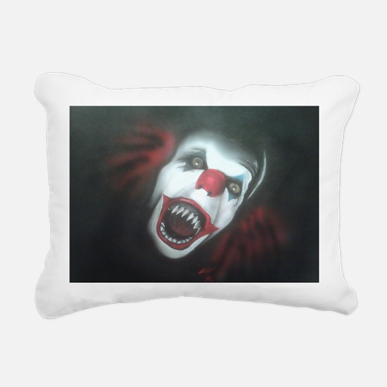 EvilClown Rectangular Canvas Pillow
