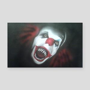 EvilClown Rectangle Car Magnet