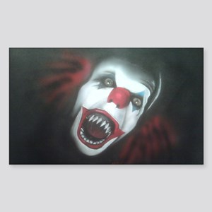 EvilClown Sticker (Rectangle)