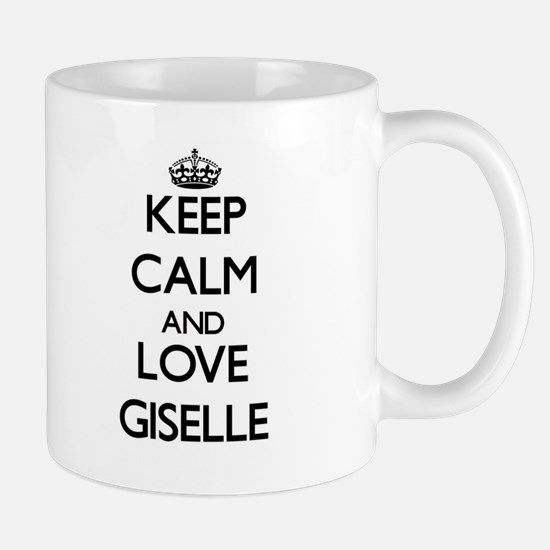 Keep Calm and Love Giselle Mugs