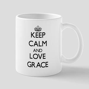 Keep Calm and Love Grace Mugs