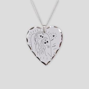 Listen, Trust, and Ask Keepsa Necklace Heart Charm