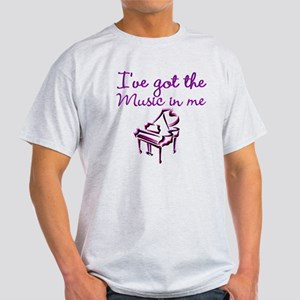 PIANO PLAYER Light T-Shirt