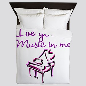 PIANO PLAYER Queen Duvet