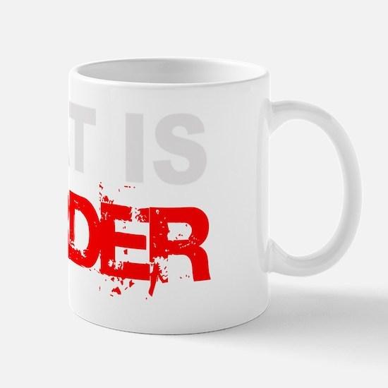 Meat Is Murder trans-3 Mug