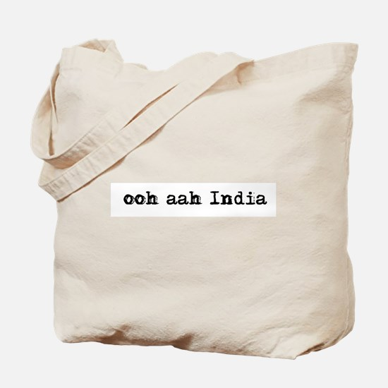 ooh aah India Tote Bag