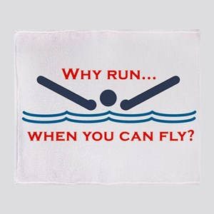 Why run when you can fly? Throw Blanket