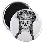 Skull Indian Headdress Magnets