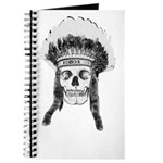 Skull Indian Headdress Journal