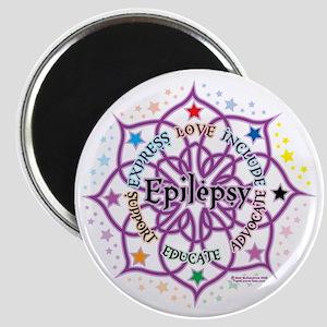 Epilepsy-Lotus Magnet
