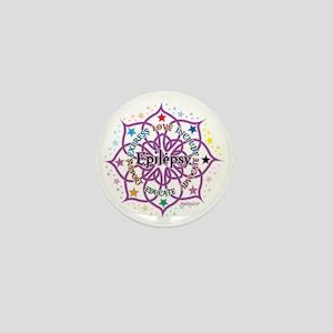 Epilepsy-Lotus Mini Button