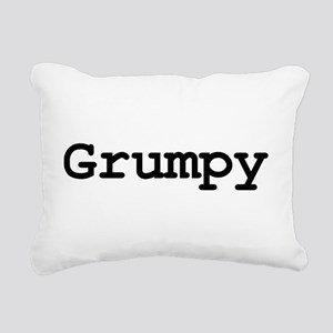 grumpy Rectangular Canvas Pillow