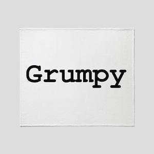 grumpy Throw Blanket