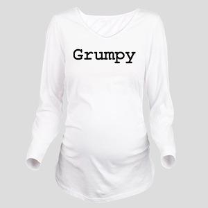 grumpy Long Sleeve Maternity T-Shirt
