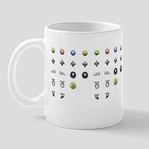 xbox 360 buttons Mug