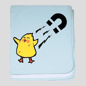 Chick magnet baby blanket