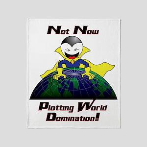 WorldDomination Throw Blanket