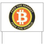 Bitcoin-8 Yard Sign