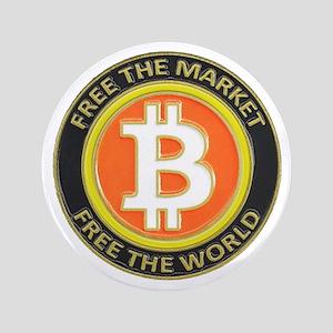 """Bitcoin-8 3.5"""" Button"""