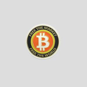 Bitcoin-8 Mini Button
