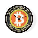 Bitcoin-8 Wall Clock