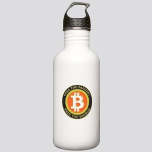 Bitcoin-8 Stainless Water Bottle 1.0L