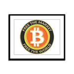 Bitcoin-8 Framed Panel Print