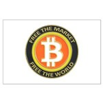 Bitcoin-8 Large Poster