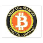 Bitcoin-8 Small Poster