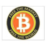 Bitcoin-8 Small Poster