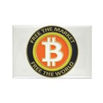 Bitcoin-8 Rectangle Magnet (100 pack)