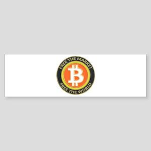 Bitcoin-8 Sticker (Bumper)