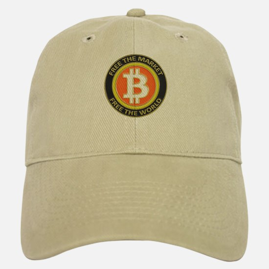 Bitcoin-8 Baseball Baseball Cap