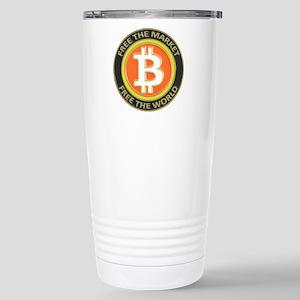 Bitcoin-8 Stainless Steel Travel Mug