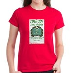 10th Tennessee Women's Dark T-Shirt