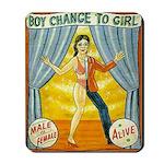 Boy change to girl mousepad