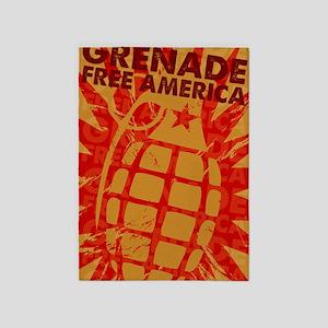 Greenade Free Amercia 5'x7'Area Rug