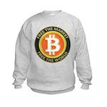 Bitcoin-8 Kids Sweatshirt