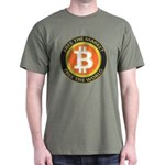 Bitcoin-8 Dark T-Shirt