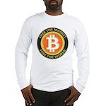 Bitcoin-8 Long Sleeve T-Shirt