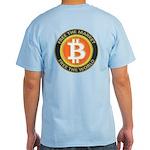 Bitcoin-8 Light T-Shirt