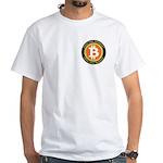 Bitcoin-8 White T-Shirt