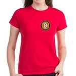 Bitcoin-8 Women's Dark T-Shirt