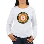 Bitcoin-8 Women's Long Sleeve T-Shirt