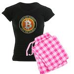 Bitcoin-8 Women's Dark Pajamas