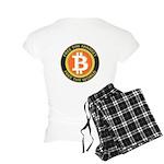 Bitcoin-8 Women's Light Pajamas